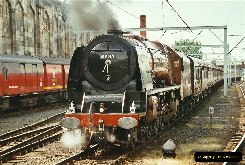 2003-06-14 Northampton-Crewe-Carlisle & Return. The Royal Scptt & 6233 Dutchess of Southerland.  (85)205
