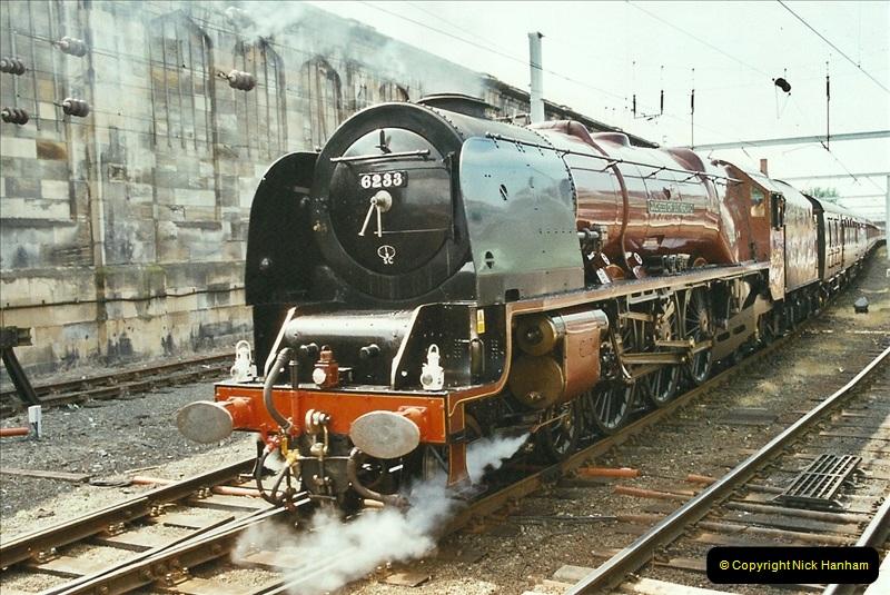 2003-06-14 Northampton-Crewe-Carlisle & Return. The Royal Scptt & 6233 Dutchess of Southerland.  (87)207