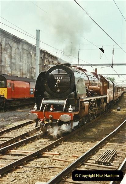 2003-06-14 Northampton-Crewe-Carlisle & Return. The Royal Scptt & 6233 Dutchess of Southerland.  (88)208