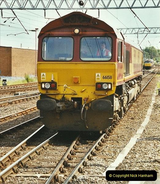 2003-06-14 Northampton-Crewe-Carlisle & Return. The Royal Scptt & 6233 Dutchess of Southerland.  (90)210