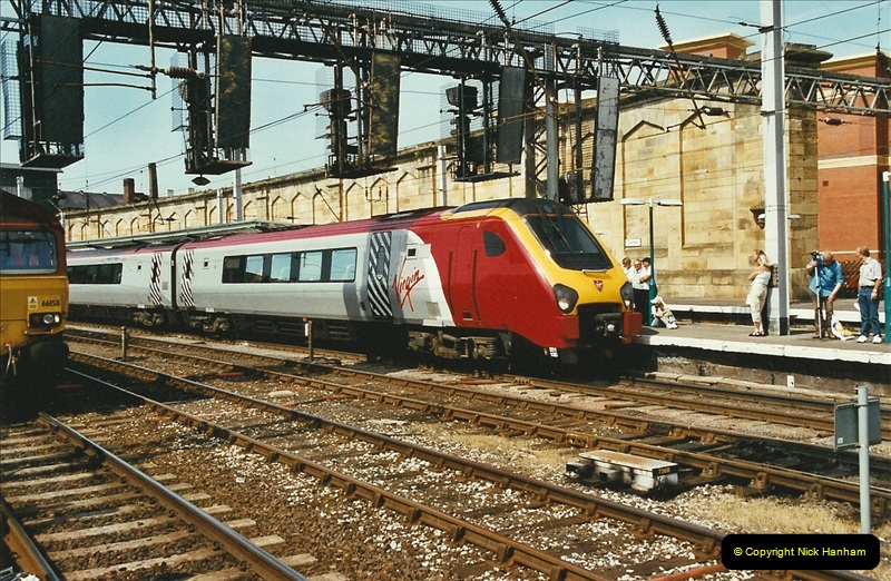 2003-06-14 Northampton-Crewe-Carlisle & Return. The Royal Scptt & 6233 Dutchess of Southerland.  (91)211