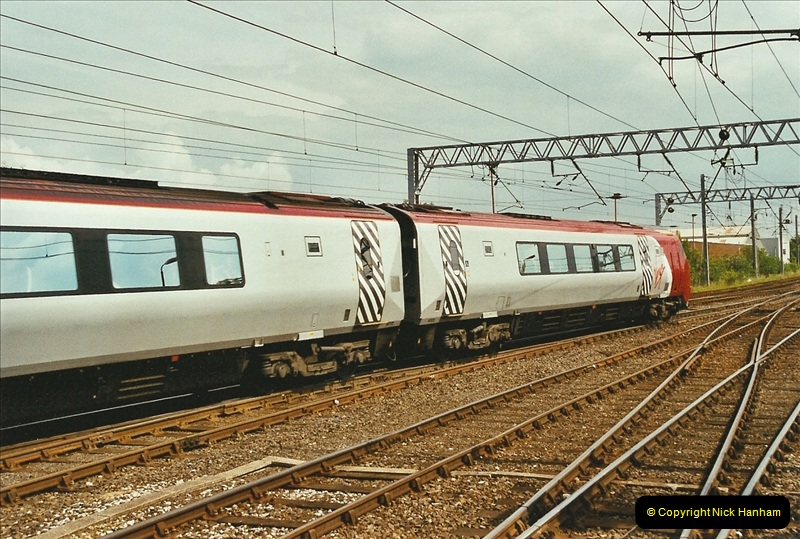 2003-06-14 Northampton-Crewe-Carlisle & Return. The Royal Scptt & 6233 Dutchess of Southerland.  (92)212