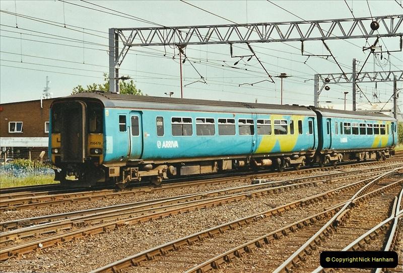 2003-06-14 Northampton-Crewe-Carlisle & Return. The Royal Scptt & 6233 Dutchess of Southerland.  (93)213