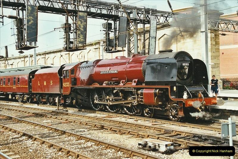 2003-06-14 Northampton-Crewe-Carlisle & Return. The Royal Scptt & 6233 Dutchess of Southerland.  (97)217
