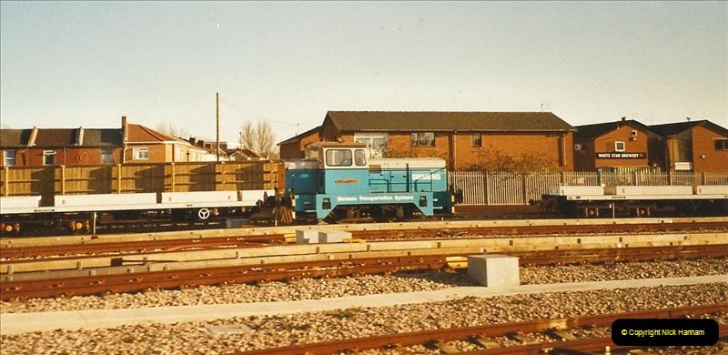 2003-12-07 New train care depot @ Northam, Southampton.  (1)284