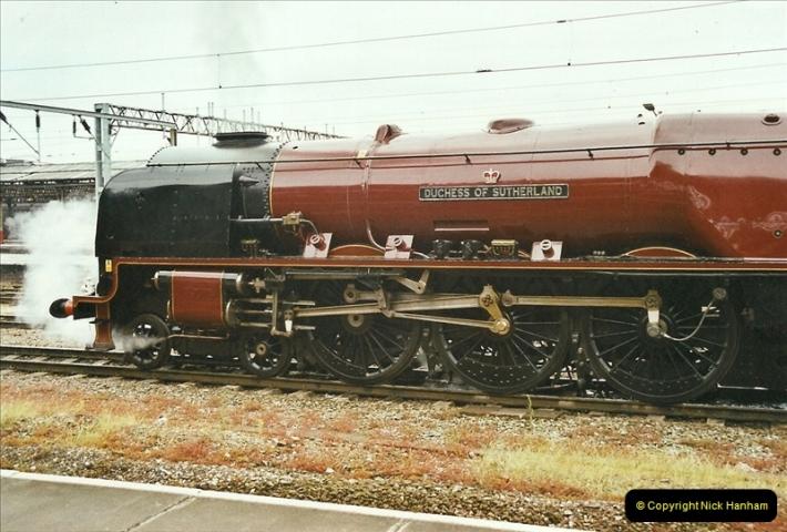 2003-06-14 Northampton-Crewe-Carlisle & Return. The Royal Scott & 6233 Dutchess of Southerland.  (11)131