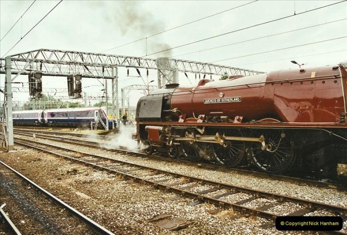 2003-06-14 Northampton-Crewe-Carlisle & Return. The Royal Scott & 6233 Dutchess of Southerland.  (15)135