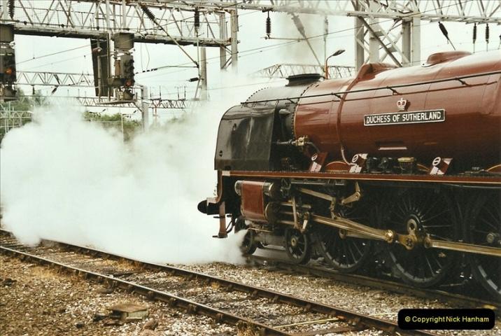 2003-06-14 Northampton-Crewe-Carlisle & Return. The Royal Scott & 6233 Dutchess of Southerland.  (17)137