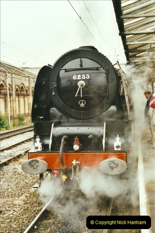 2003-06-14 Northampton-Crewe-Carlisle & Return. The Royal Scott & 6233 Dutchess of Southerland.  (18)138