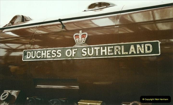 2003-06-14 Northampton-Crewe-Carlisle & Return. The Royal Scott & 6233 Dutchess of Southerland.  (20)140