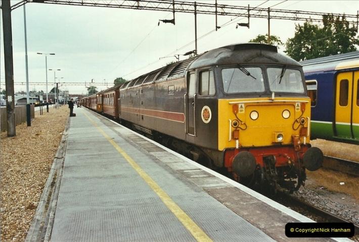 2003-06-14 Northampton-Crewe-Carlisle & Return. The Royal Scott & 6233 Dutchess of Southerland.  (2)122