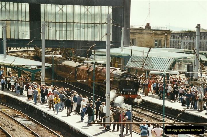 2003-06-14 Northampton-Crewe-Carlisle & Return. The Royal Scott & 6233 Dutchess of Southerland.  (22)142