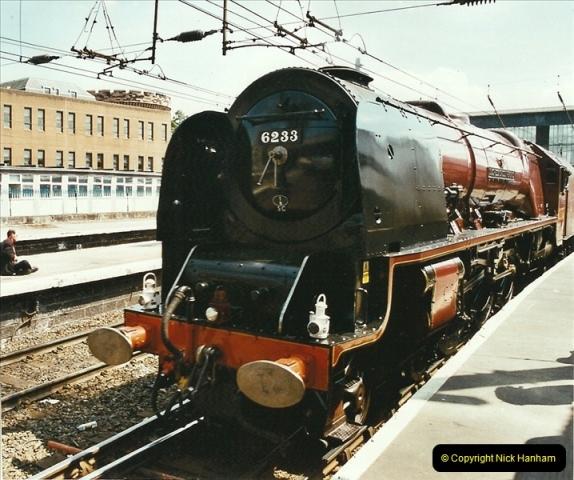 2003-06-14 Northampton-Crewe-Carlisle & Return. The Royal Scott & 6233 Dutchess of Southerland.  (32)152