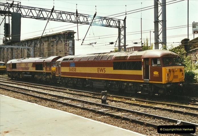 2003-06-14 Northampton-Crewe-Carlisle & Return. The Royal Scott & 6233 Dutchess of Southerland.  (33)153