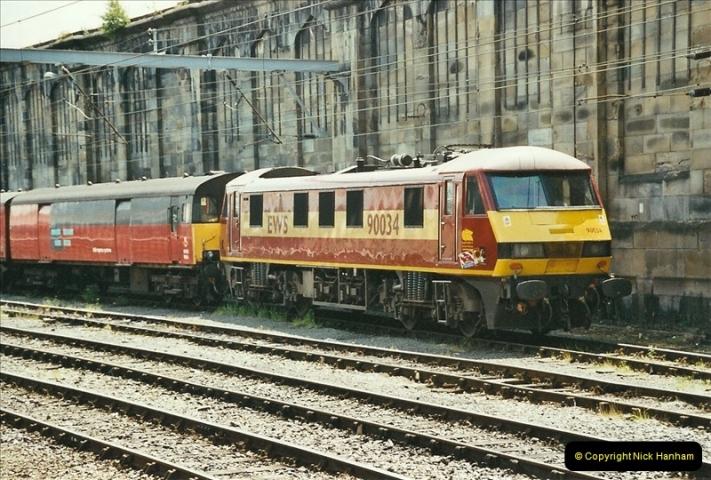 2003-06-14 Northampton-Crewe-Carlisle & Return. The Royal Scott & 6233 Dutchess of Southerland.  (36)156