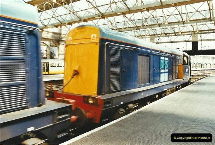 2003-06-14 Northampton-Crewe-Carlisle & Return. The Royal Scott & 6233 Dutchess of Southerland.  (40)160