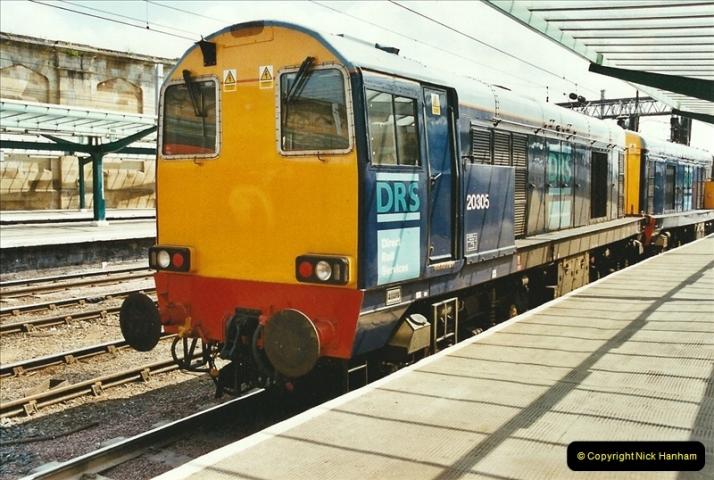 2003-06-14 Northampton-Crewe-Carlisle & Return. The Royal Scott & 6233 Dutchess of Southerland.  (42)162