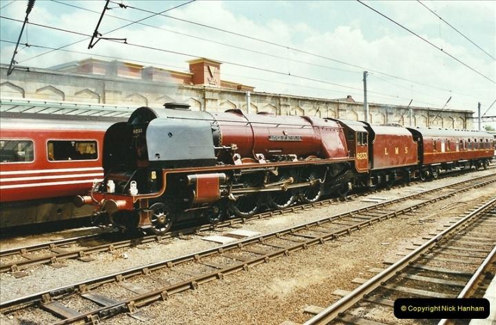 2003-06-14 Northampton-Crewe-Carlisle & Return. The Royal Scott & 6233 Dutchess of Southerland.  (49)169