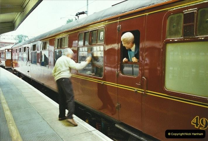 2003-06-14 Northampton-Crewe-Carlisle & Return. The Royal Scott & 6233 Dutchess of Southerland.  (5)125