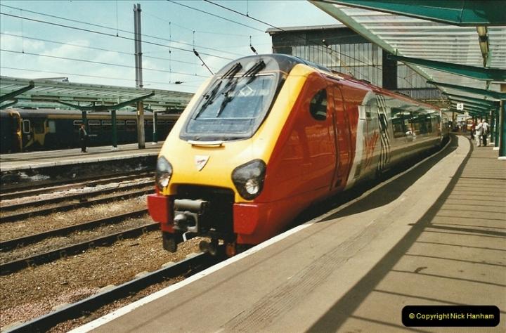 2003-06-14 Northampton-Crewe-Carlisle & Return. The Royal Scott & 6233 Dutchess of Southerland.  (53)173