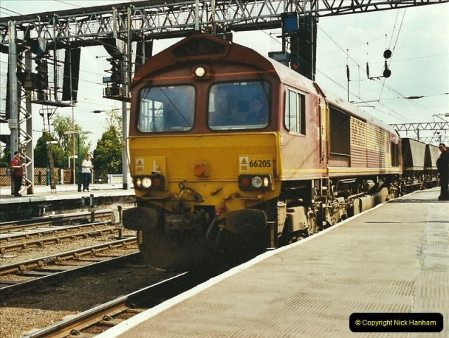 2003-06-14 Northampton-Crewe-Carlisle & Return. The Royal Scott & 6233 Dutchess of Southerland.  (58)178