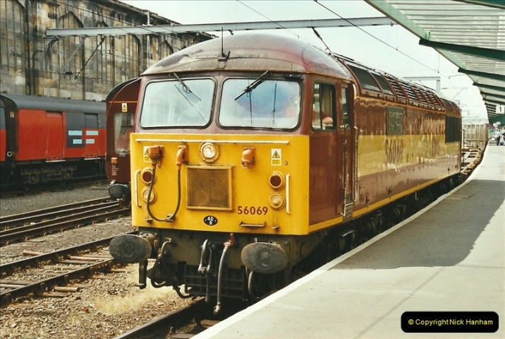 2003-06-14 Northampton-Crewe-Carlisle & Return. The Royal Scott & 6233 Dutchess of Southerland.  (65)185