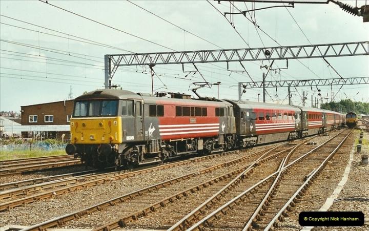 2003-06-14 Northampton-Crewe-Carlisle & Return. The Royal Scott & 6233 Dutchess of Southerland.  (73)193