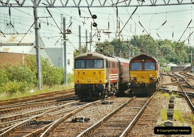 2003-06-14 Northampton-Crewe-Carlisle & Return. The Royal Scott & 6233 Dutchess of Southerland.  (74)194
