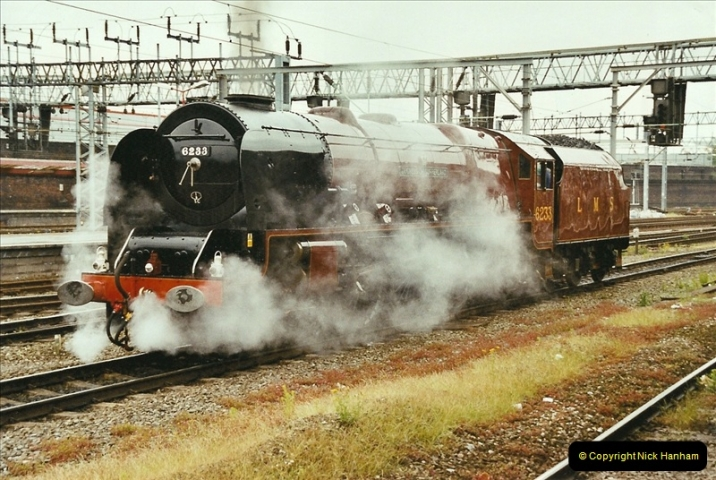 2003-06-14 Northampton-Crewe-Carlisle & Return. The Royal Scott & 6233 Dutchess of Southerland.  (8)128