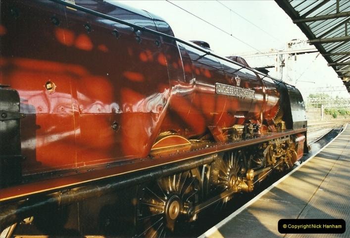 2003-06-14 Northampton-Crewe-Carlisle & Return. The Royal Scptt & 6233 Dutchess of Southerland.  (103)223