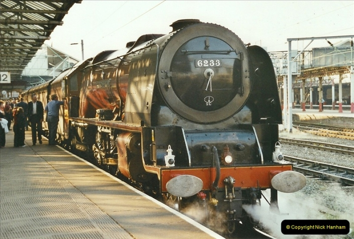 2003-06-14 Northampton-Crewe-Carlisle & Return. The Royal Scptt & 6233 Dutchess of Southerland.  (106)226