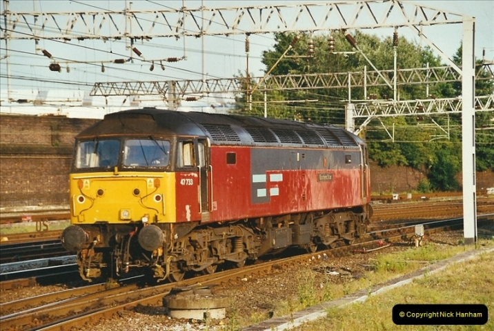 2003-06-14 Northampton-Crewe-Carlisle & Return. The Royal Scptt & 6233 Dutchess of Southerland.  (107)227