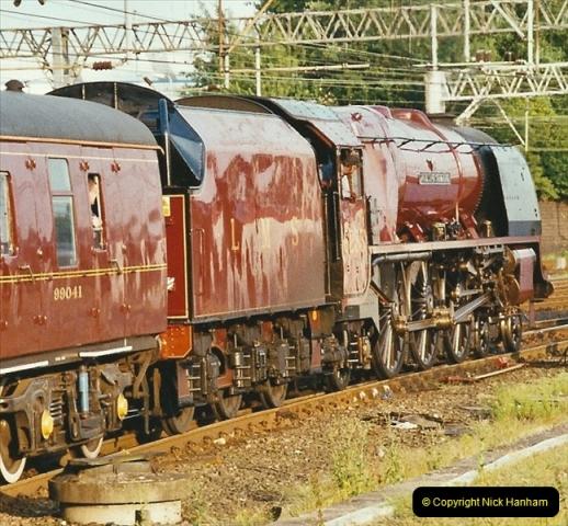 2003-06-14 Northampton-Crewe-Carlisle & Return. The Royal Scptt & 6233 Dutchess of Southerland.  (110)230