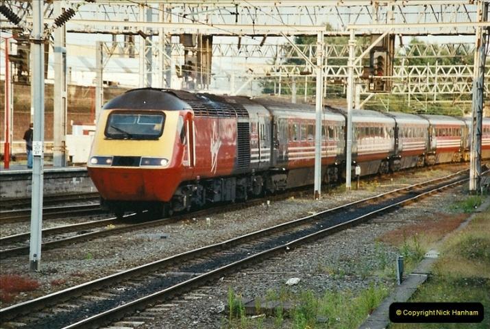 2003-06-14 Northampton-Crewe-Carlisle & Return. The Royal Scptt & 6233 Dutchess of Southerland.  (115)235