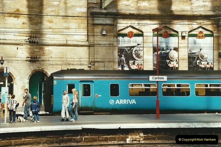 2003-06-14 Northampton-Crewe-Carlisle & Return. The Royal Scptt & 6233 Dutchess of Southerland.  (76)196