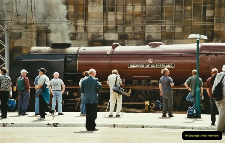2003-06-14 Northampton-Crewe-Carlisle & Return. The Royal Scptt & 6233 Dutchess of Southerland.  (82)202