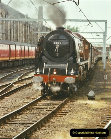 2003-06-14 Northampton-Crewe-Carlisle & Return. The Royal Scptt & 6233 Dutchess of Southerland.  (86)206