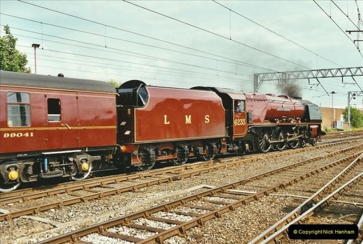 2003-06-14 Northampton-Crewe-Carlisle & Return. The Royal Scptt & 6233 Dutchess of Southerland.  (96)216