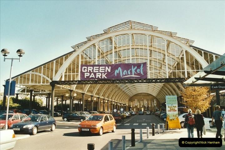 2003-09-24 Bath Green Park station (S&DJR).  (2)239