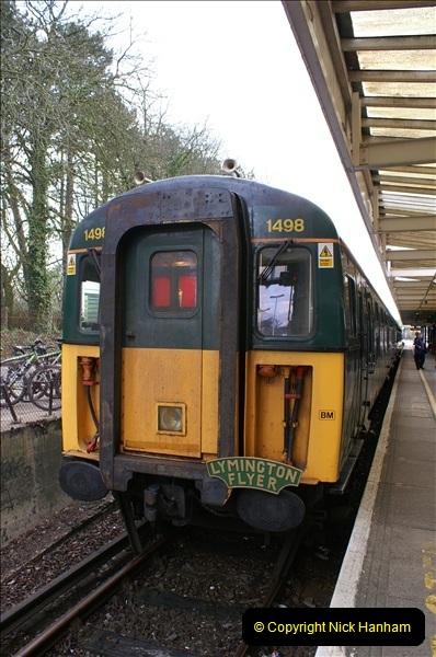 2006-04-03 Brockenhurst and the Lymington Branch, Hampshire. (28) 064