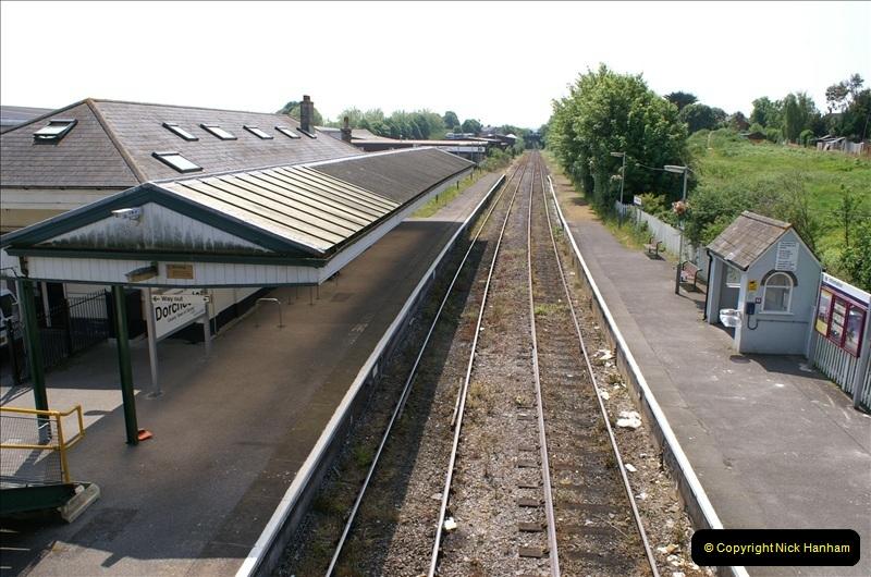 2006-06-07 Dorchester South Station, Dorset. (1) 068