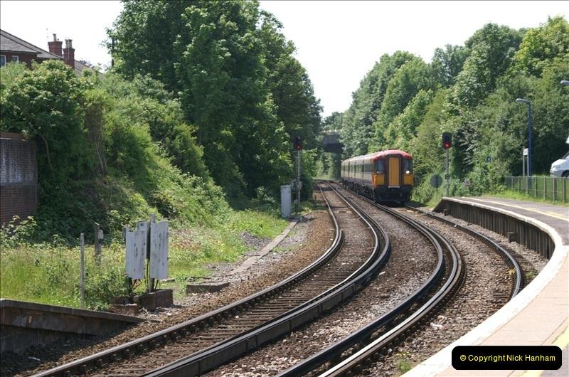 2006-06-07 Dorchester South Station, Dorset. (11) 078