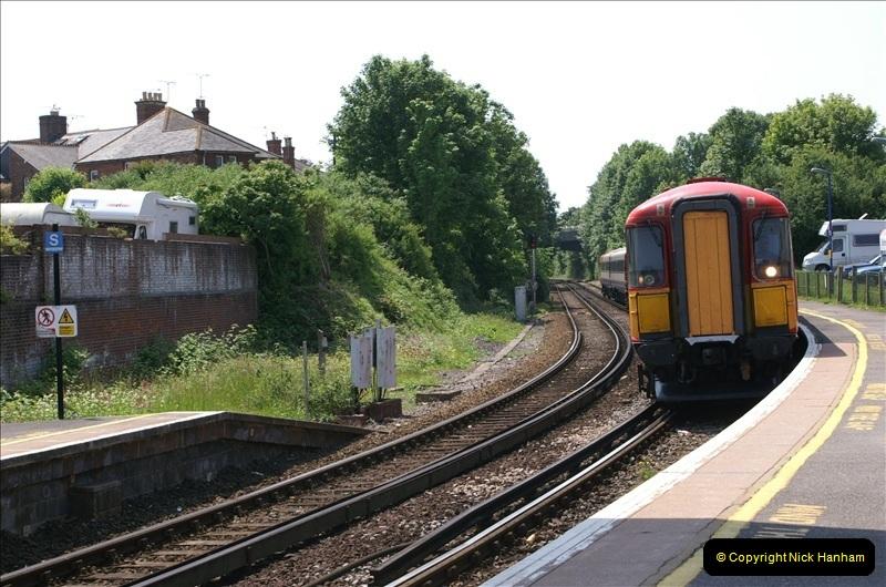 2006-06-07 Dorchester South Station, Dorset. (12) 079