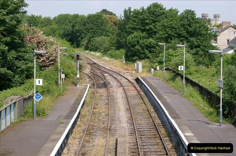 2006-06-07 Dorchester South Station, Dorset. (2) 069