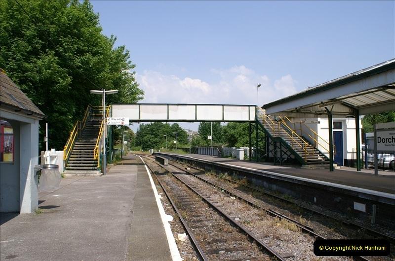 2006-06-07 Dorchester South Station, Dorset. (5) 072