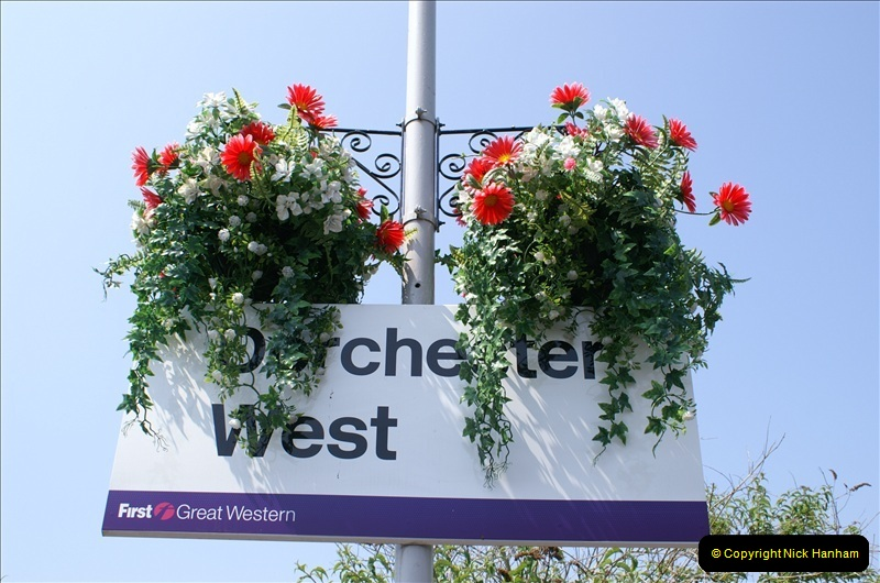 2006-06-07 Dorchester South Station, Dorset. (6) 073