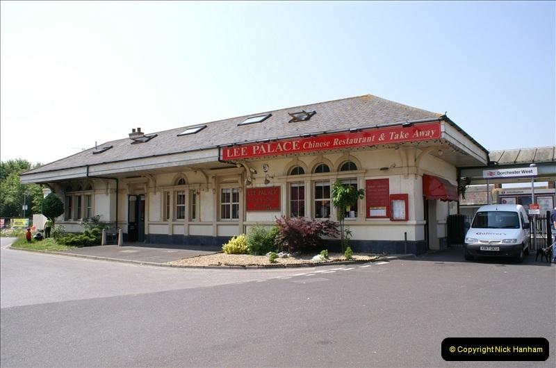 2006-06-07 Dorchester South Station, Dorset. (7) 074