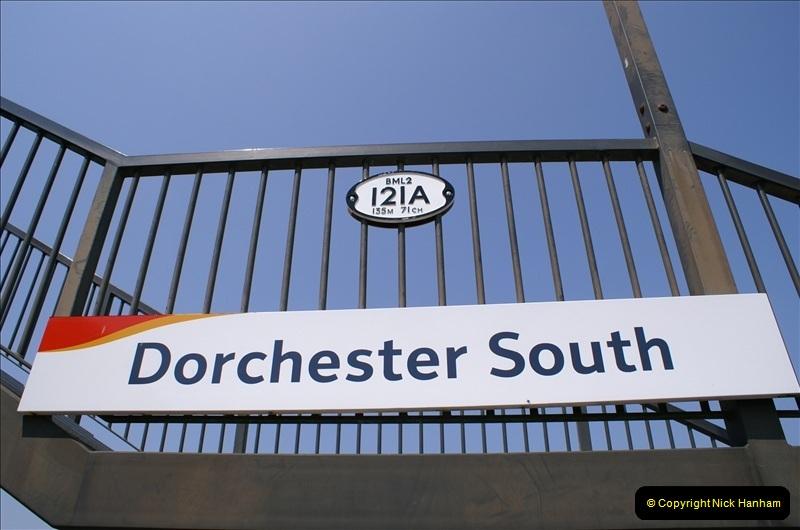 2006-06-07 Dorchester South Station, Dorset. (8) 075