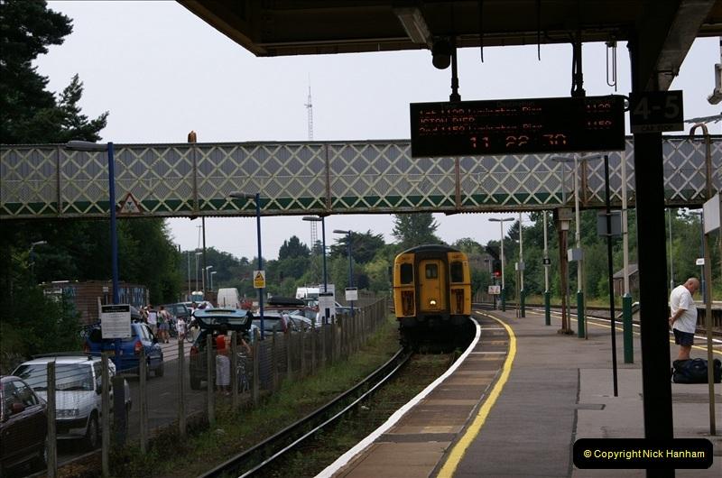 2006-07-22 Brockenhurst to Lymington, Hampshire. (1) 083