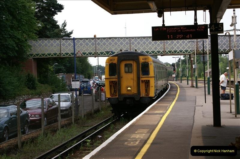 2006-07-22 Brockenhurst to Lymington, Hampshire. (2) 084